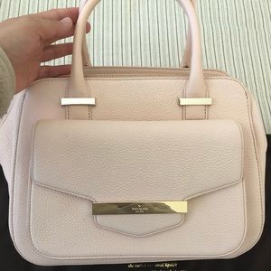 Kate Spade top handle bag with strap.  pink.  New!
